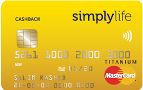 Compare credit cards from Simplylife
